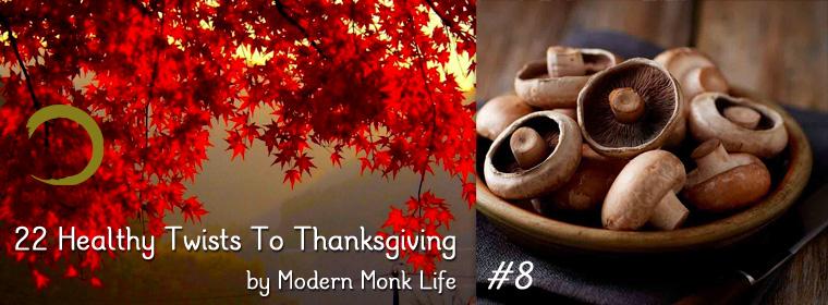 Mushroom, Spinach, and Scallion Tart | Modern Monk Life